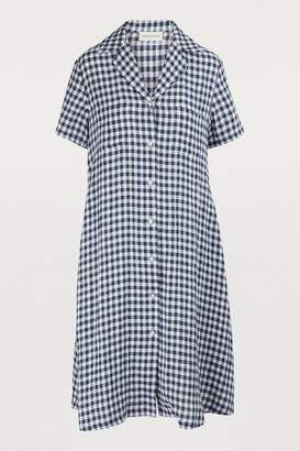Mansur Gavriel Short linen dress