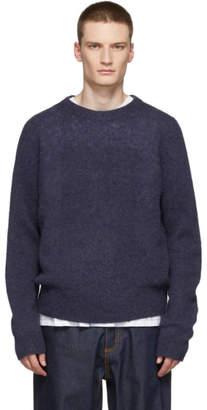 Acne Studios Purple Kai Crewneck Sweater