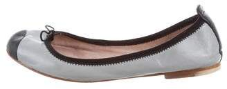 Bloch Cap-Toe Leather Flats