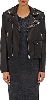 IRO Women's Blondie Biker Jacket $1,578 thestylecure.com