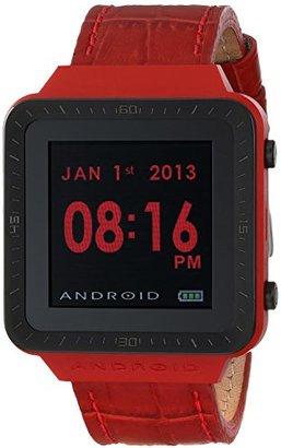 Android (アンドロイド) - Androidユニセックスad721br Smartwatch GTSデジタルクオーツレッドWatch