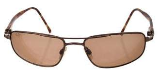 Maui Jim Oval Tinted Sunglasses
