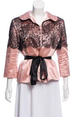 Thakoon Satin Evening Jacket