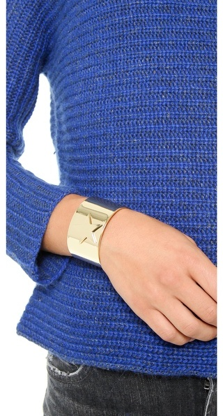 Noir Star Cuff Bracelet