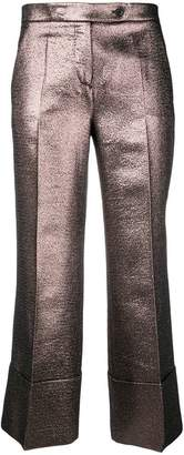 Mantu metallic tailored trousers