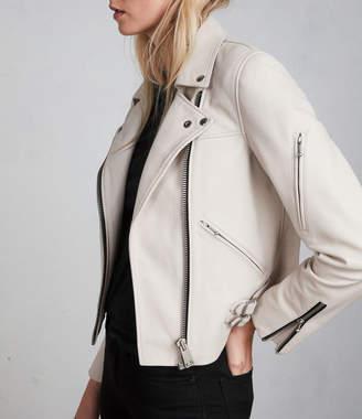 AllSaints Prescott Leather Biker Jacket