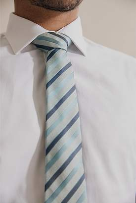 Country Road Textured Stripe Tie