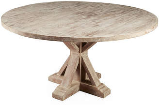 "One Kings Lane Mason 59"" Dining Table - Weathered Sand"