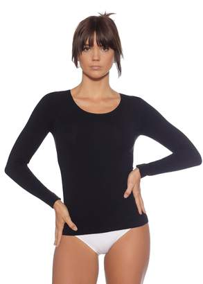 1408fdc33b at Amazon Canada · Boody Body EcoWear Women s Long Sleeve Top made from Natural  Organic Bamboo Viscose – Soft Breathable