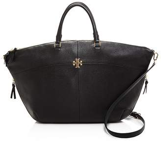 Tory Burch Ivy Slouchy Satchel $495 thestylecure.com