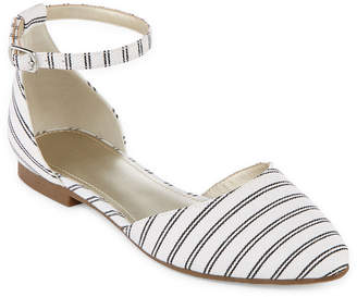 46fb1eb0cef4b A.N.A Womens Darell Ballet Flats Buckle Closed Toe