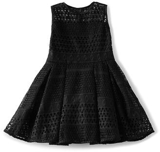 Bardot Junior Paneled Mesh Dress $120 thestylecure.com