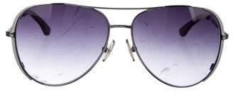 MICHAEL Michael Kors Aviator Gradient Sunglasses