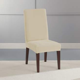 ... Sure Fit Stretch Plush Short Dining Room Chair Slipcover