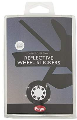 Pogu Reflective Pushchair Wheel Stickers, Star