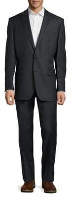 Lauren Ralph Lauren Textured Solid Wool Suit