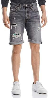 Levi's LEVI'S 501 Destroyed Cutoff Shorts