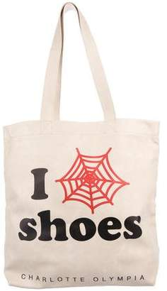 Charlotte Olympia I Love CO Shoes Tote