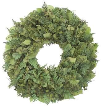 Floral Treasure Eucalyptus and Fern Wreath