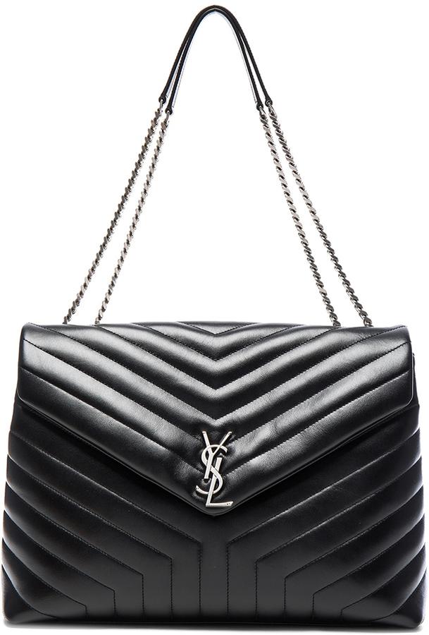 Saint LaurentSaint Laurent Slouchy Large Monogramme Shoulder Bag
