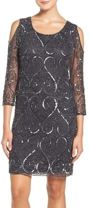 Women's Pisarro Nights Embellished Mesh Dress $198 thestylecure.com