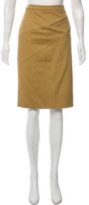 Michael Kors Wool Pencil Skirt