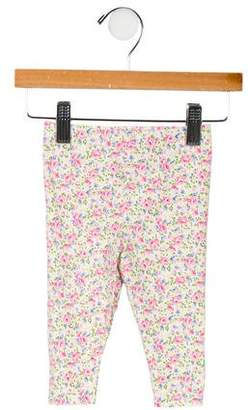 Ralph Lauren Girls' Knit Floral Print Leggings