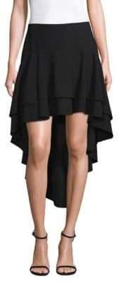 Elie Tahari Aubrey Hi-Lo Skirt