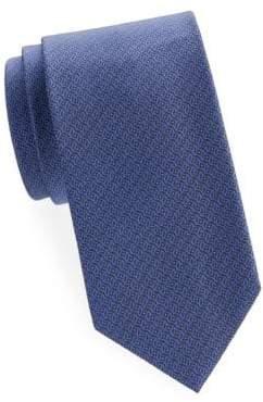 Brioni Abstract Geometric Silk Tie