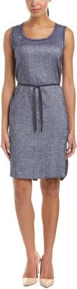 Lafayette 148 New York Dayton Linen-Blend Shift Dress