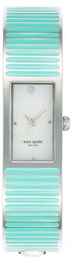 kate spade new york 'carousel' bangle watch Mint Cream/ Silver
