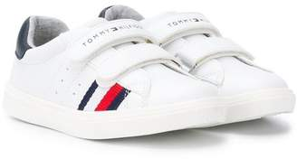 Tommy Hilfiger Junior logo touch-strap sneakers