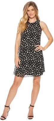 Calvin Klein Polka Dot Trapeze Dress CD8HAC2R Women's Dress