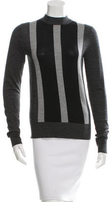 Vera Wang Striped Wool Sweater w/ Tags $125 thestylecure.com