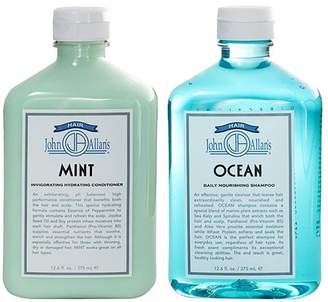 John Allan's Ocean Shampoo & Mint Conditioner Set