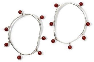 FARIS Verre Hoop Earrings