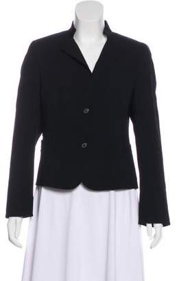 Akris Wool Long Sleeve Blazer