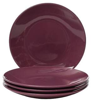 George Home Purple Dinner Plates - Set of 4