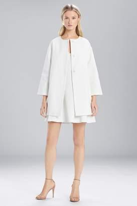 Natori Josie Textured Cotton Long Topper