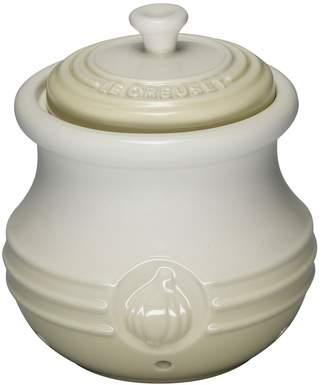 Le Creuset Petite Stoneware Garlic Cocotte
