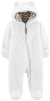 Carter's Sherpa One piece Pram Suit-Baby Unisex