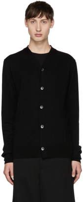 Comme des Garcons Black Knit Cardigan