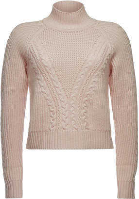 Gerber Karl X Kaia Karl x Kaia Cropped Wool Pullover with Cashmere