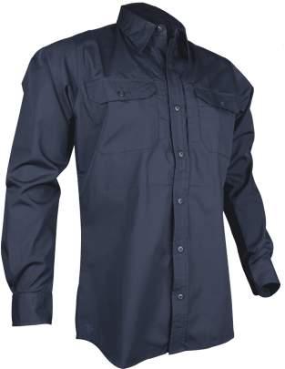 Tru-spec 24-7 SHIRT; MEN'S LIGHTWEIGHT LONG SLEEVE 65/35 P/C R/S DRESS