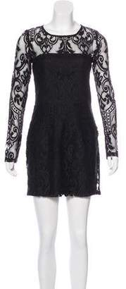 Alexis Long Sleeve Lace Mini Dress