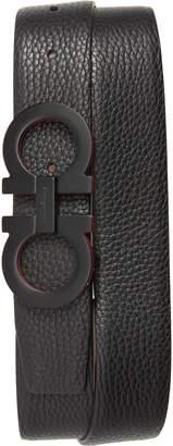 Salvatore Ferragamo Panini Leather Belt