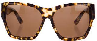House of Harlow 1960 Leopard Print Billie Sunglasses $125 thestylecure.com