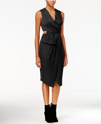 RACHEL Rachel Roy Cutout Faux-Wrap Dress, Only at Macy's $139 thestylecure.com