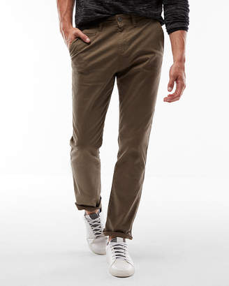 Express Classic Fit Stretch Garment Dyed Chino