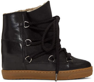 Isabel Marant Black Nowles Snow Boots